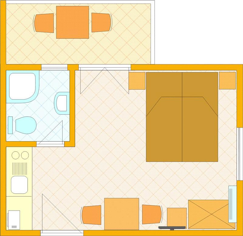 Apartmani-Adria-Petrcane---apartmani---App_STUDIO_tlocrt